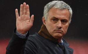 FILE - December 17, 2015: Jose Mourinho has been sacked as Chelsea manager. STOKE ON TRENT, ENGLAND - OCTOBER 27: Jose Mourinho the manager of Chelsea looks on during the Capital One Cup fourth round match between Stoke City and Chelsea at the Britannia Stadium on October 27, 2015 in Stoke on Trent, England. (Photo by Ross Kinnaird/Getty Images)
